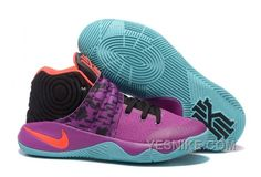 "f936826113a3 Find Quality Nike Kyrie 2 ""Easter"" Purple Mint-Red-Black Christmas Deals  ScKKCsb and more o"
