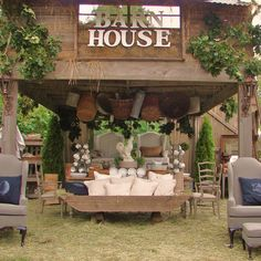 the Barn House vintage show and sale