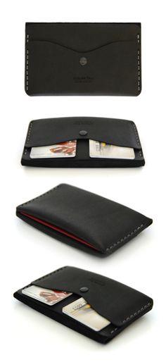 slim passport carrier by AtelierPALL.com