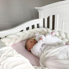 Peluche coussin tressé  ensemble tour de lit lit bébé