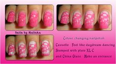Nails by Malinka: Casuelle, color changing nailpolish