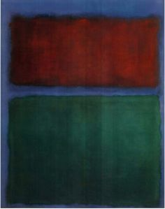 "dailyrothko: ""  Mark Rothko, Untitled (Earth and green), 1955, Oil on canvas """