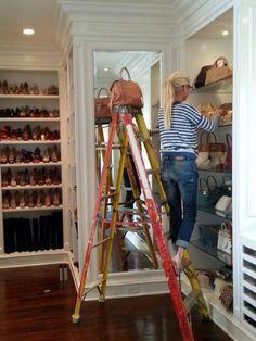 I want Yolanda Foster's Fabulous Closet!