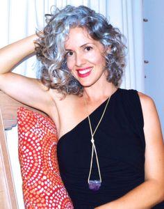 Sara Davis-Eisenman silver hair gray hair