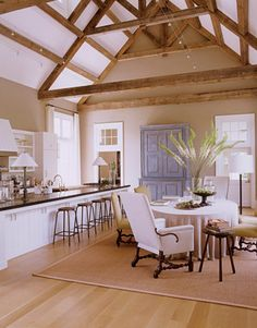 Cuisine salle à manger #design #bois