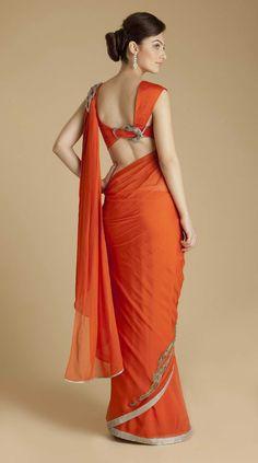 beautiful #saree blouse