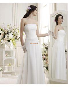 A-line Balayage / pinceau train Brillant & Séduisant Robes de mariée 2014