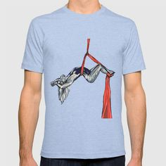 Hanging by a Thread T-shirt Activewear, Mens Tops, T Shirt, Fashion, Moda, Tee Shirt, Fashion Styles, T Shirts, Fashion Illustrations
