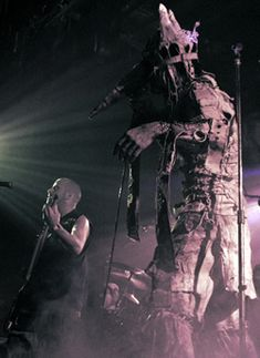 Skinny Puppy, Greater Wrong of the Right Tour, 2004, photo by Emilie Elizabeth