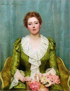 Serenity (1890) by Louise Jopling (1843-1933)
