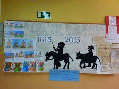 Don Quijote de la Mancha. CRA Eria-Jamuz. Jiménez de Jamuz. León
