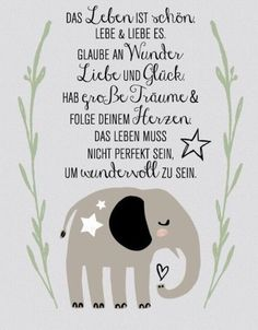 Live Das Leben The life - Live Life The life - # peacefulparentingbooks Birthday Quotes, Birthday Cards, Happy Birthday, Smart Art, Peaceful Parenting, Baby Party, True Words, Friendship Quotes, Live Life
