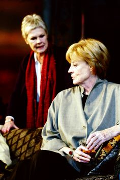 """Maggie Smith and Judi Dench, """"The Breath of Life"""", 2002."""