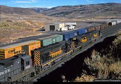 RailPictures.Net Photo: DRGW 5405 Denver & Rio Grande Western Railroad EMD SD40T-2 at Soldier Summit, Utah by James Belmont