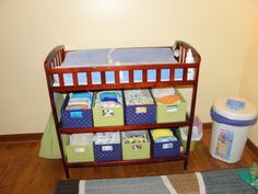 Thoughts of Fluff: Cloth Diaper Storage