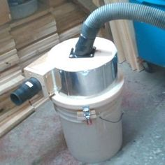 Compact Dust Collector : 22 Steps (with Pictures) - Instructables Woodworking Jigsaw, Learn Woodworking, Woodworking Supplies, Woodworking Ideas, Dust Collector Diy, Screen Door Latch, Diy Easel, Plastic Drums, Best Jigsaw