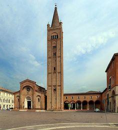 Abbazia di San Mercuriale, Forlì Queen Mary, San Francisco Ferry, Notre Dame, Building, Travel, Nature, Art, Art Background, Viajes