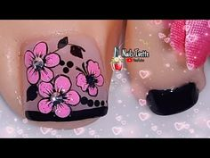 Pretty Toe Nails, Pretty Toes, Pedicure Nail Art, Manicure, Merry Christmas Gif, Toe Nail Designs, Make It Yourself, Beauty, Videos
