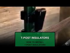 How to Install T-Post Insulators for Electric Tape Fencing ⚡️ Pro-Tek Tape @YouTube #horses #horsefence #rammfence #electrictape #protektape #equestrian #installation #howto #video #diy #farm #electricfence #insulator #tpost #tpostinsulator