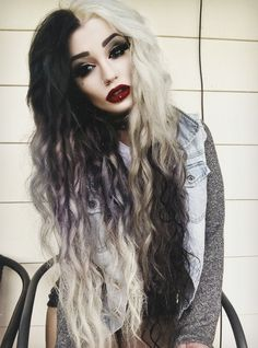 Eurgh, can't get enough of Cruella de Ville chic. wylona-hayashi: theproserpina: I'm a B I T C H aww love you too baby