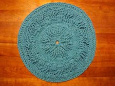 Colette Pattern  Accent crochet pet rug by TheWellReadCat on Etsy, $60.00