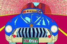 Pushwagner - Honk City