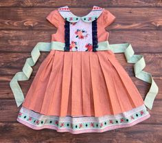 The Josephine Pleated Dress PDF Sewing Pattern Size 12 month - 12 year Girls Toddler Tween Toddler Dress Patterns, Sewing Patterns For Kids, Sewing For Kids, Sewing Ideas, Cute Outfits For Kids, Sewing Clothes, Doll Clothes, Little Girl Dresses, Toddler Girl