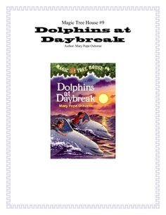 Dolphins at Daybreak Novel Study only $