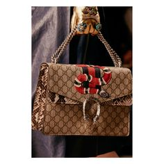 """Gucci Women's Spring Summer 2016 Runway Show. The """"it Bag of Europe"""""""