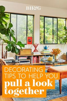 With so many elements to consider and choices to make, decorating can be a challenge. To make the process easier and more enjoyable, there are a few strategies you can take that will simplify your decorating decisions. Follow these steps to learn how to pull together a look you'll love #decoratingtips #interiordecorating #homedecortips #interiordesign #homedecorideas #bhg Decorating Tips, Interior Decorating, Interior Design, Home Decor Trends, Challenges, Projects, Diy, Nest Design, Log Projects