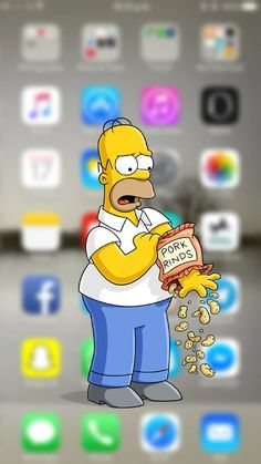 homer wallpaper by - 77 - Free on ZEDGE™ Simpson Wallpaper Iphone, Cartoon Wallpaper Iphone, Disney Phone Wallpaper, Iphone Background Wallpaper, Apple Wallpaper, Aesthetic Iphone Wallpaper, Cool Wallpaper, Desktop Backgrounds, Dope Wallpapers