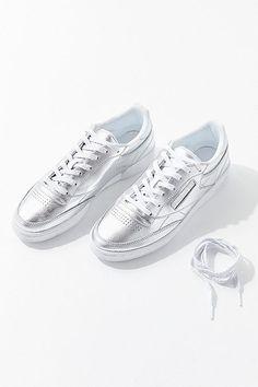 130ae05a9c6 Reebok Club C 85 Shine Sneaker Reebok Club C, Sport Chic, Urban Outfitters,