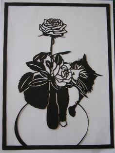 nice rose petal work, artist?