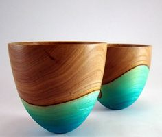 wood vessels Pinned by www.galleryvessel.com . Cremation urns for a life well lived.