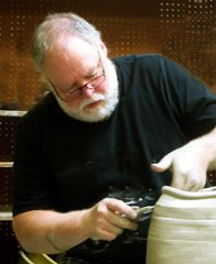 Robert Briscoe. Potter who introduced us to the Minnesota Potters Tour and Sale. THANKS ROBERT!!!