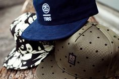 that blue one and polka dot are ill! Men Street, Street Wear, 5 Panel Cap, Street Brands, Men Accesories, Men Closet, Cool Style, My Style, Best Mens Fashion