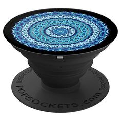 890997550e89 Amazon.com  Mandala PopSockets Grip Ocean Waves Arabesque - PopSockets Grip  and Stand for Phones and Tablets  Cell Phones   Accessories