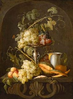 Jan Davidsz. de Heem (Dutch, 1606-1684) - Still-life with Fruits