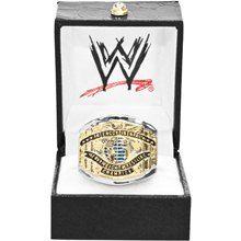 WWE White Intercontinental Championship Finger Ring- medium