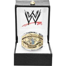WWE White Intercontinental Championship Finger Ring- medium