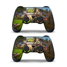 ☆NEW☆《Fortnite》 PLAYSTATION 4 controller skin. Great for a gift for any age fortnite player. Playstation Games, Ps4 Games, Ps4 Skins, Epic Games Fortnite, Battle Royale, Xbox One Controller, Vinyl Decals, Sony, Royals