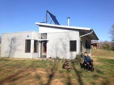 Modern Prefab House Kit News And At The Off Grid Prefab House, Weather Turns And Rough Beasts Slouch