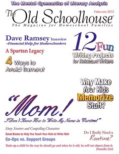 The Old Schoolhouse Magazine - February 2012 - Front Cover-Back Cover
