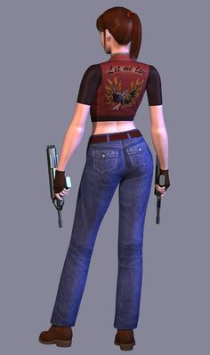 claire redfield code veronica   Claire Redfield (Resident Evil Code: Veronica)   Image   Project ...