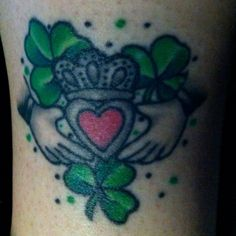 My claddagh tattoo