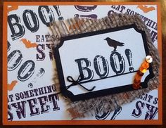September 2014 Paper Pumpkin Alternate idea.  Halloween card