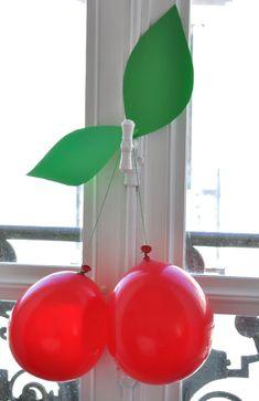 Kersen met ballon