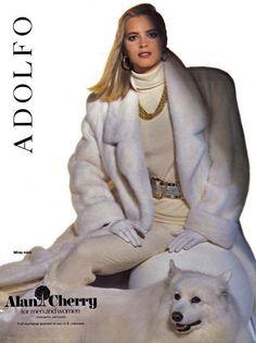 white mink fur trench coat