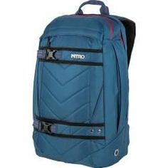 Nitro Rucksack Aerial Pack in Blau Nitro SnowboardsNitro Snowboards Snowboards, Skateboard, Nitro, Bicycle Bag, Cycling Art, Jansport Backpack, Backpacks, Blue, Surfing