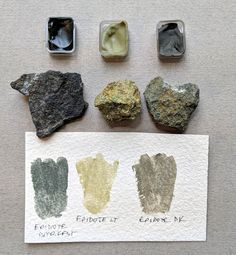 Processing Foraged Rocks and Soils for Paint (and Pastels). How To Make Ink, Tinta Natural, Homemade Watercolors, Homemade Paint, Earth Pigments, Diy Inspiration, Nature Crafts, Nature Paintings, How To Dye Fabric